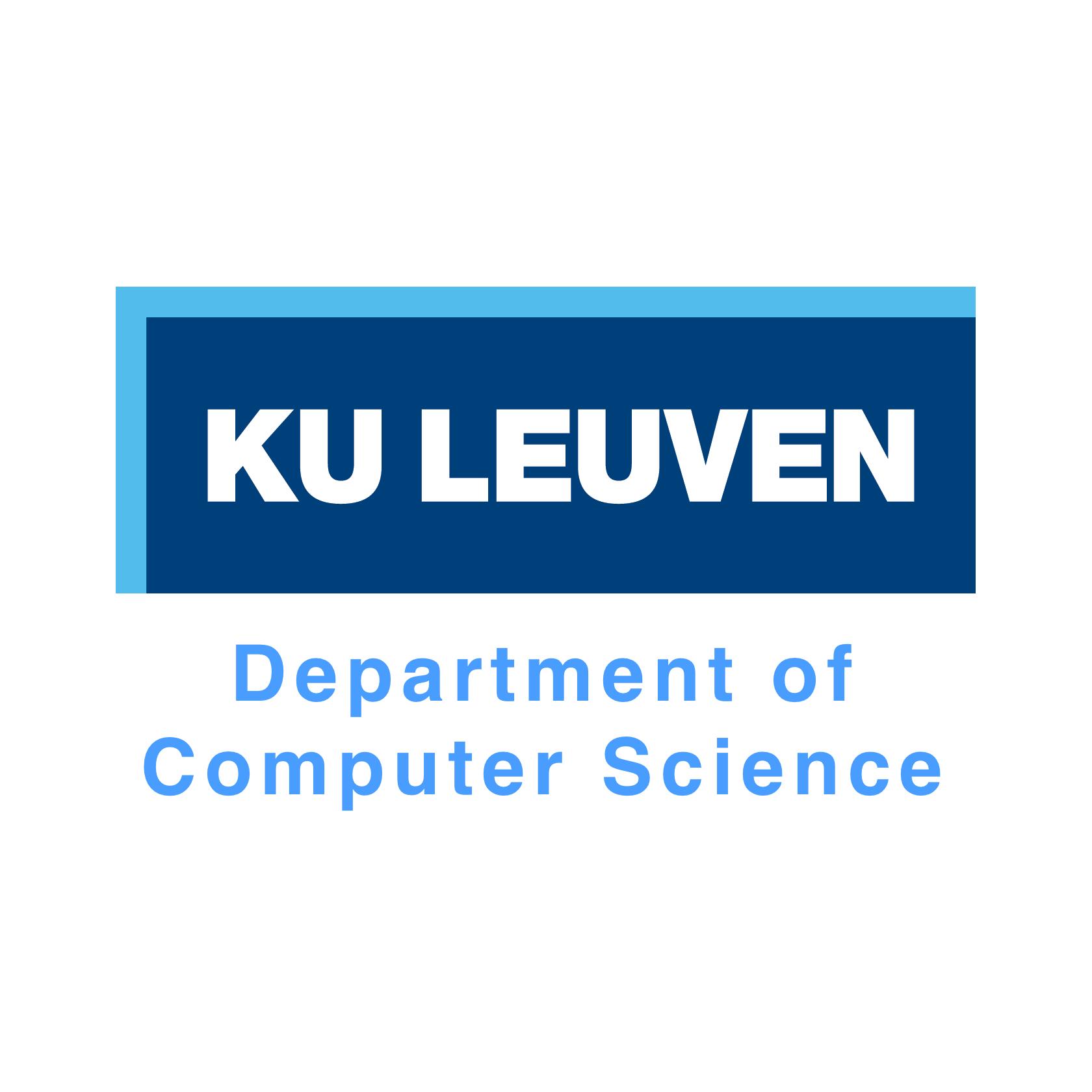 KU Leuven Department of Computer Science Logo